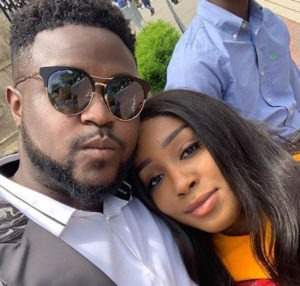 We are tallying down days to our wedding – Davido's senior sibling's fiancee uncovers