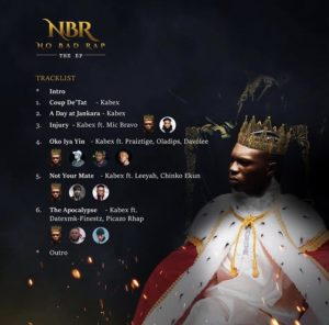Kabex ft. Leeyah & Chinko Ekun – Not Your Mate [ No Bad Rap ]