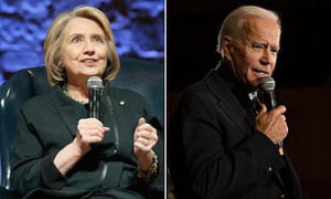 New survey shows Hillary Clinton will fight it out with Joe Biden for 2020 Democratic assignment on the off chance that she hopped into the race at this moment