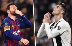 Lionel Messi breaks Champions League record as Barcelona star leapfrogs his arch-rival Cristiano Ronaldo