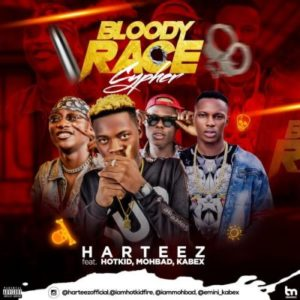 Harteez Ft. Hotkid, Mohbad & Kabex – Bloody Race Cypher