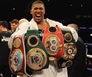 Anthony Joshua to show world championship belts to President Buhari