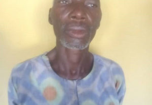 60-year-elderly person purportedly defiles neighbor's 10-year-old girl