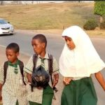 Breaking!! Ban Of Tricycle: Workers And Pupils Walk Long Distance In Abuja (Photos)