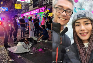 British man, 50, is killed in front of his fiancee as firework he was trying to light explodes in his face (Photos/Video)