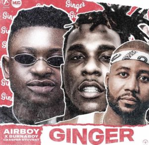 Airboy ft Burna Boy & Cassper Nyovest – Ginger ( Music Download )