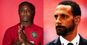 Rio Ferdinand reacts as Manchester United signs Odion Ighalo