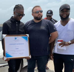 """Just In!! BMW Awards Rema Honorary Membership For His Single, """"Beamer"""""""