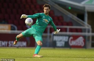 Man Utd keeper Kieran O'Hara given six-game ban for biting an opponent