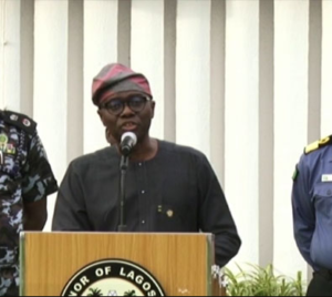 Coronavirus: We have arrested over 400 vehicles for violating lockdown order in the state – Governor Sanwo-Olu