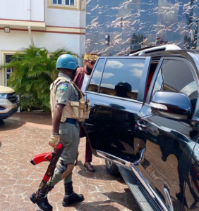 IG of Police orders immediate withdrawal of E-Money's police escorts